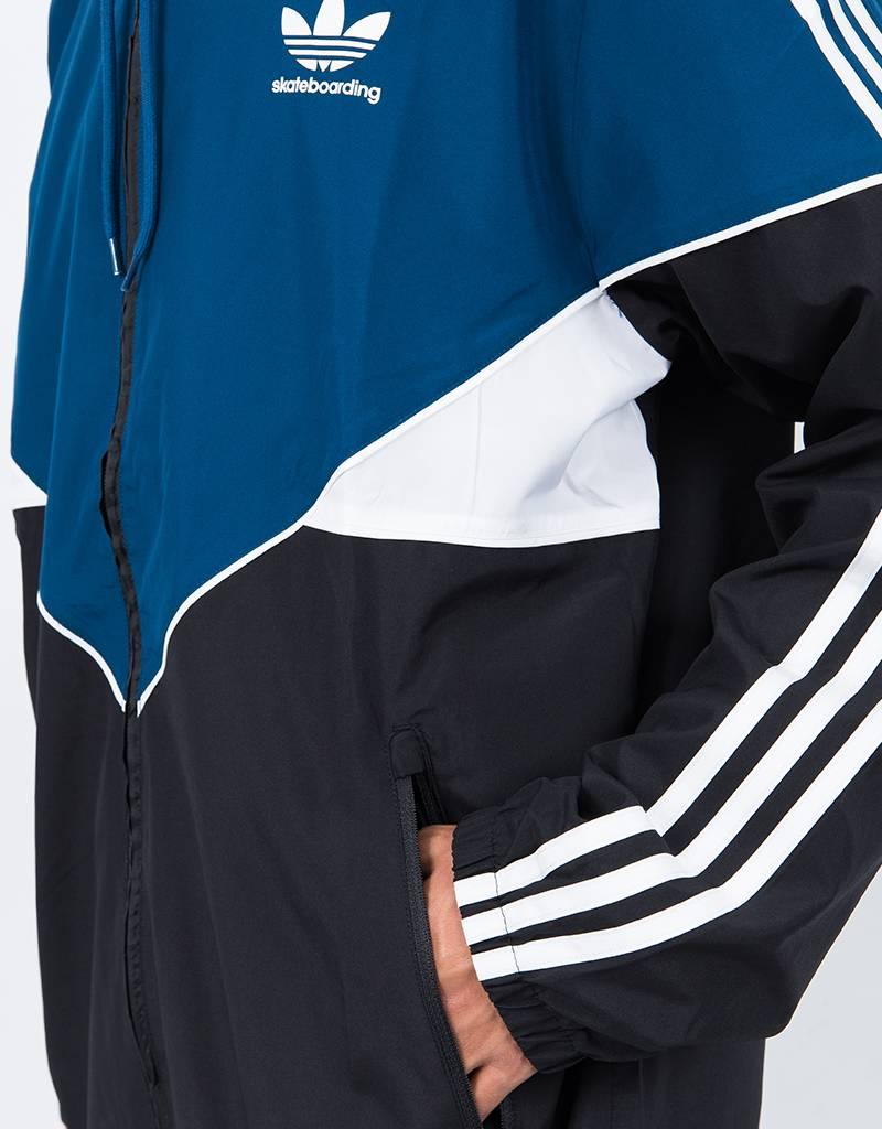 adidas premiere windbreaker black/blunit/white