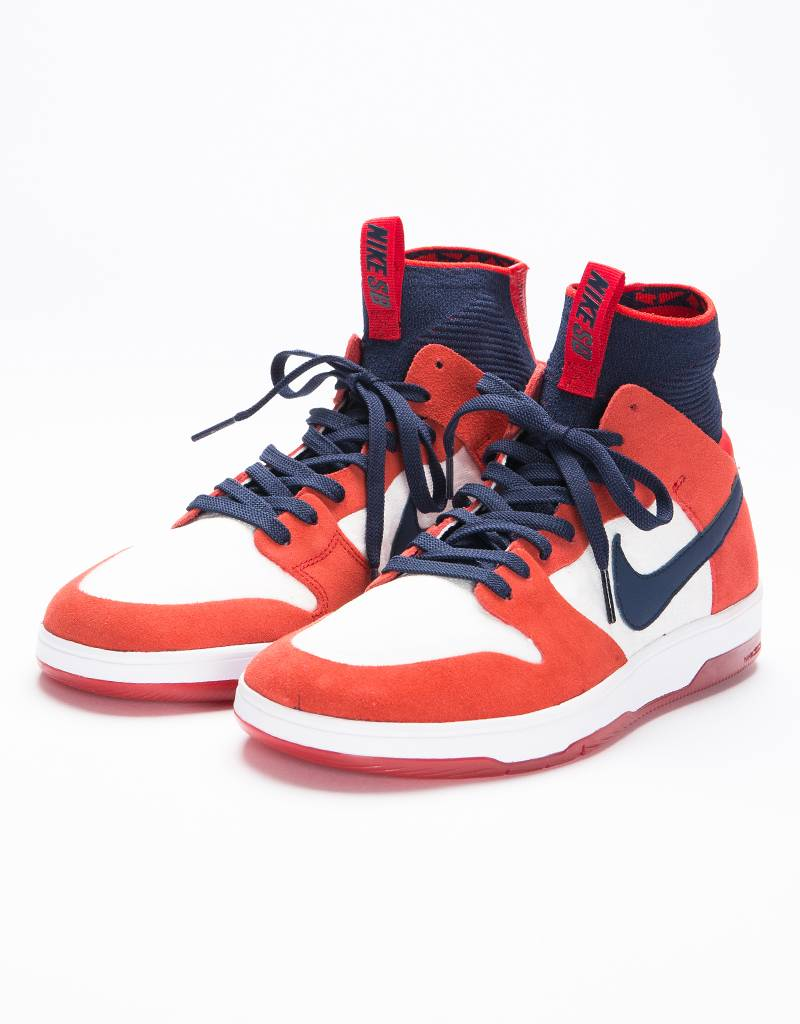 Nike SB  Zoom Dunk High Elite University Red/College Navy/White