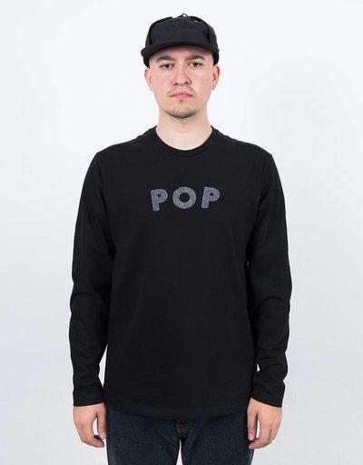 Pop Trading Co Uni Longsleeve Black