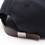 Pop Trading Co Parra Sixpanel Cap Black
