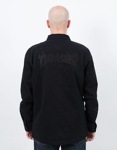 Vans x Thrasher Jacket Black