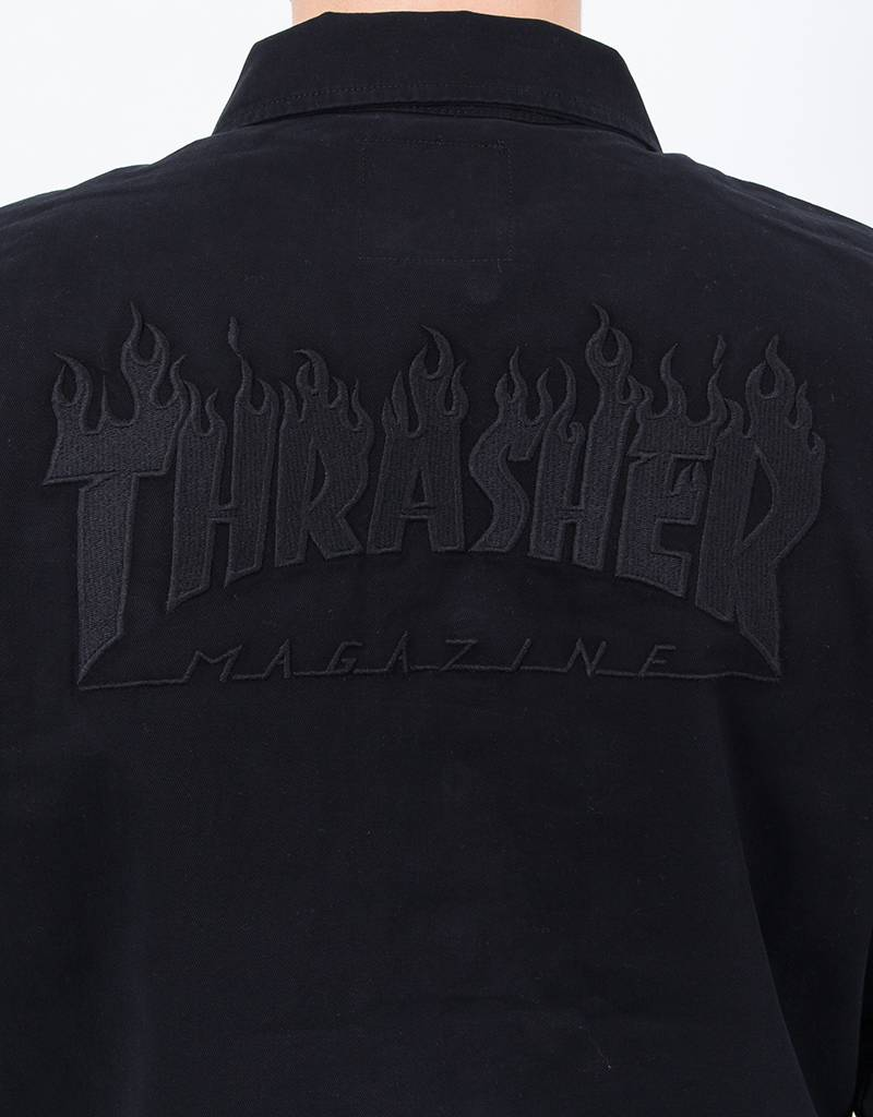 Vans x Thrasher Jacket Black