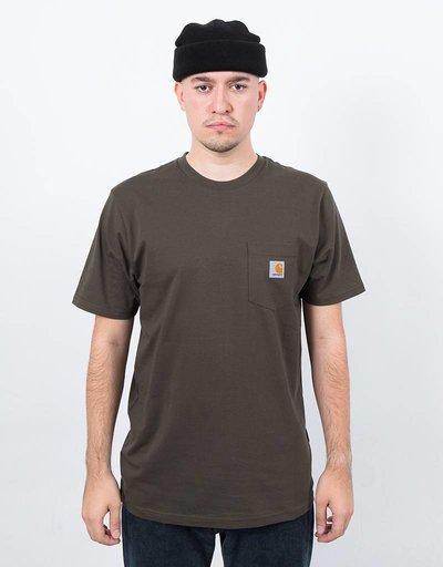 Carhartt S/S Pocket T-Shirt Jersey Cypress