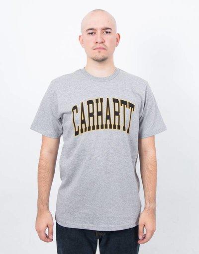 Carhartt S/S Division T-Shirt Grey Heather