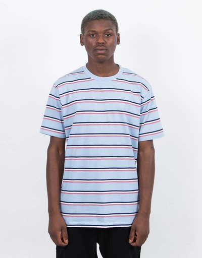 Polar X Très Bien Striped Tee Powder Blue