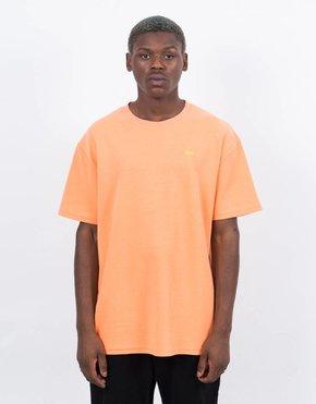Helas Hélas Pique T-Shirt Peach Orange