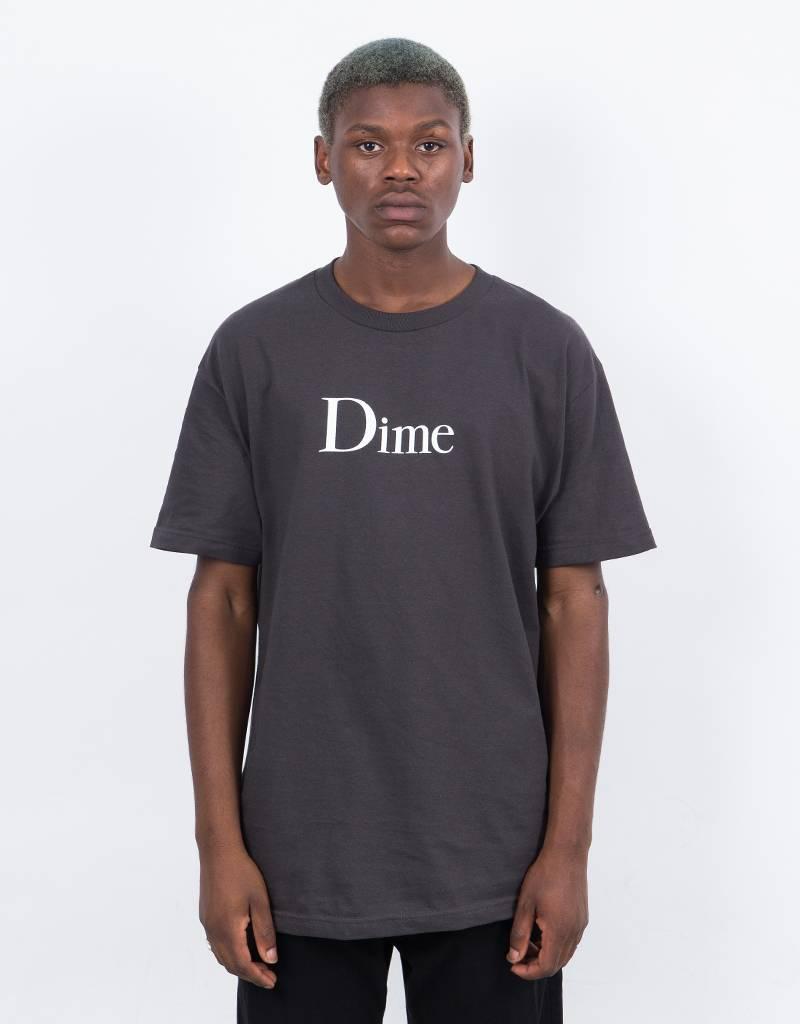 Dime Classic Logo T-Shirt Conspiracy Black