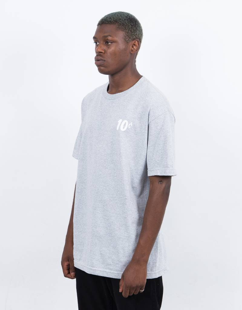 Dime x Quartersnacks T-Shirt Heather Grey