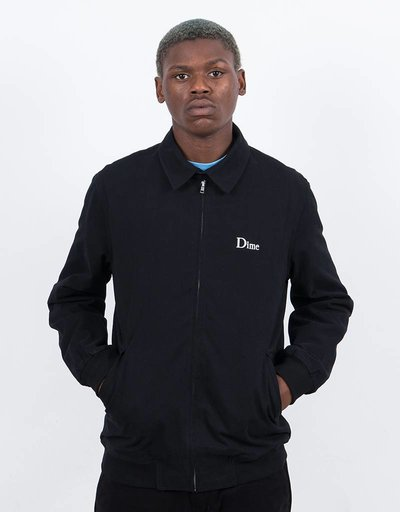 Dime Twill Jacket Black
