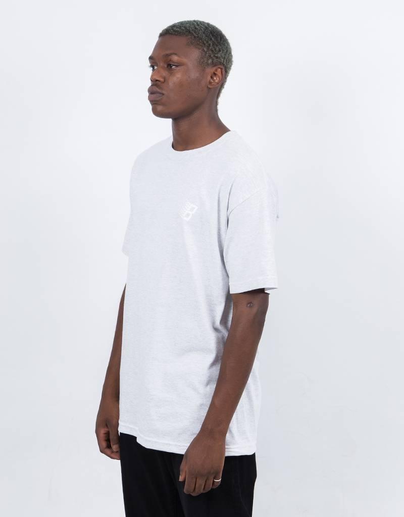 Bronze B Logo T-Shirt Ash/Lime/White