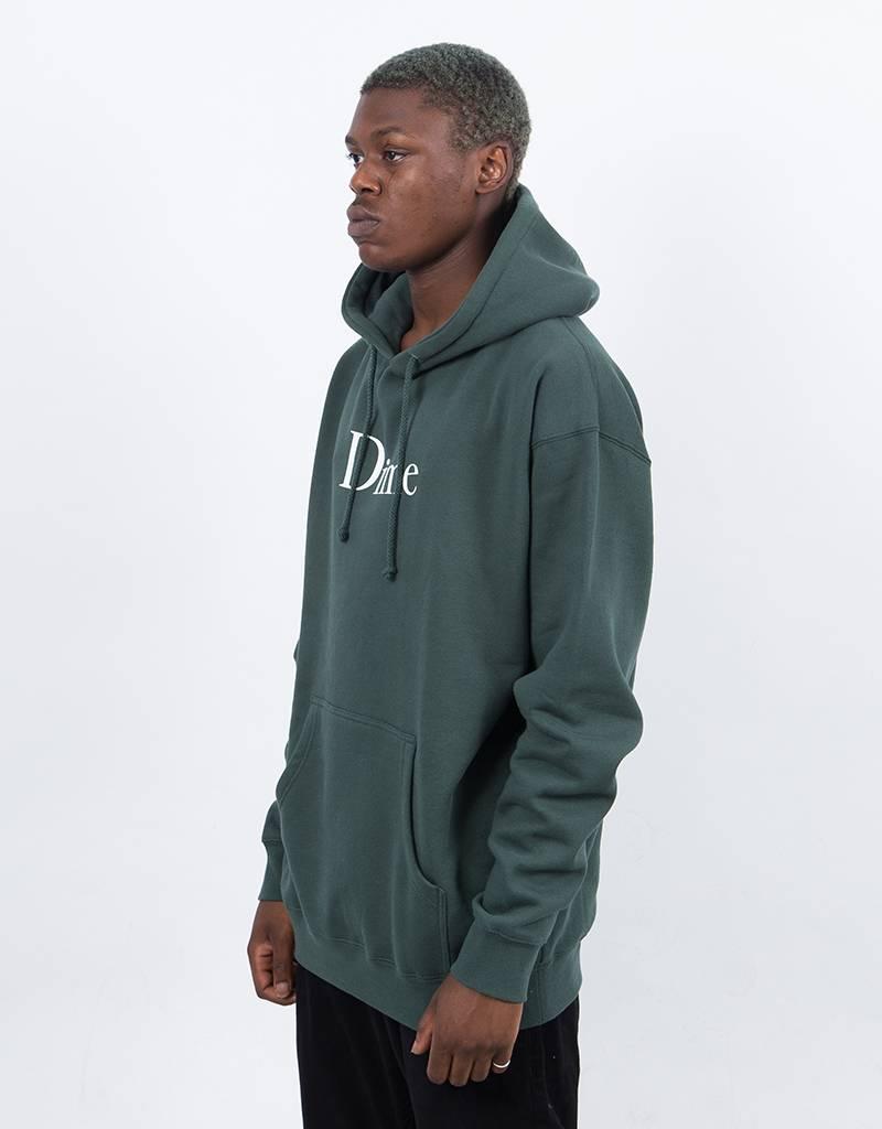Dime Classic Logo Hoodie Green