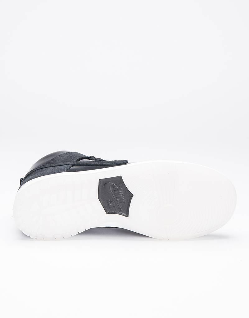 Nike SB Dunk High Pro Black/White/Clear