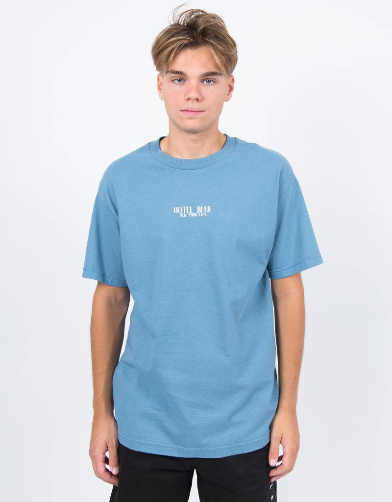 Hotel Blue Logo T-Shirt Slate Blue