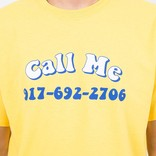 Call Me 917 Groovy T-Shirt Yellow