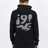 Parra Old Man Says Nein Hoodie Black