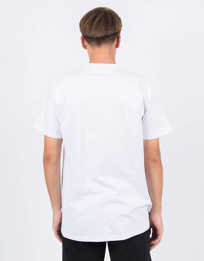 Post Korvlover tee flock print white