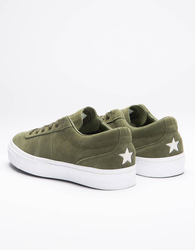 Converse One star CC OX Herbal/Herbal/White