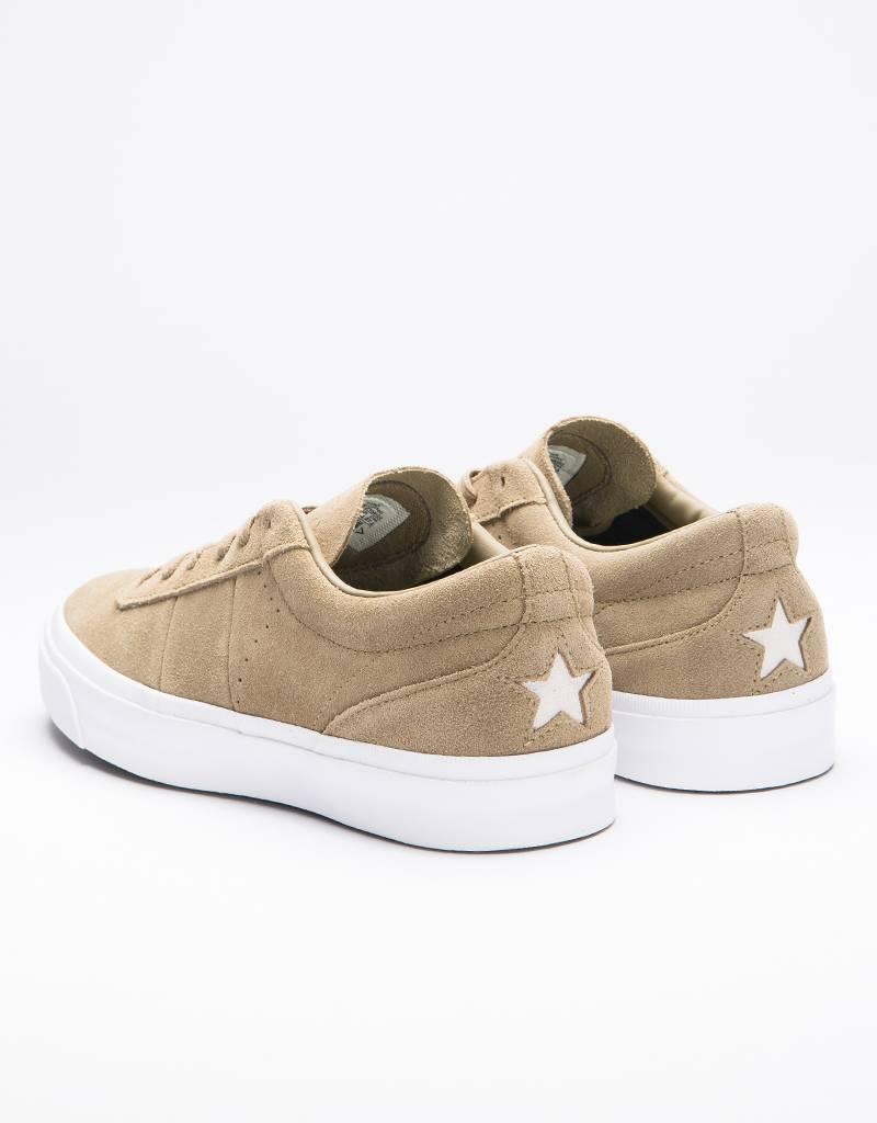 Converse One star CC OX Khaki/Khaki/White