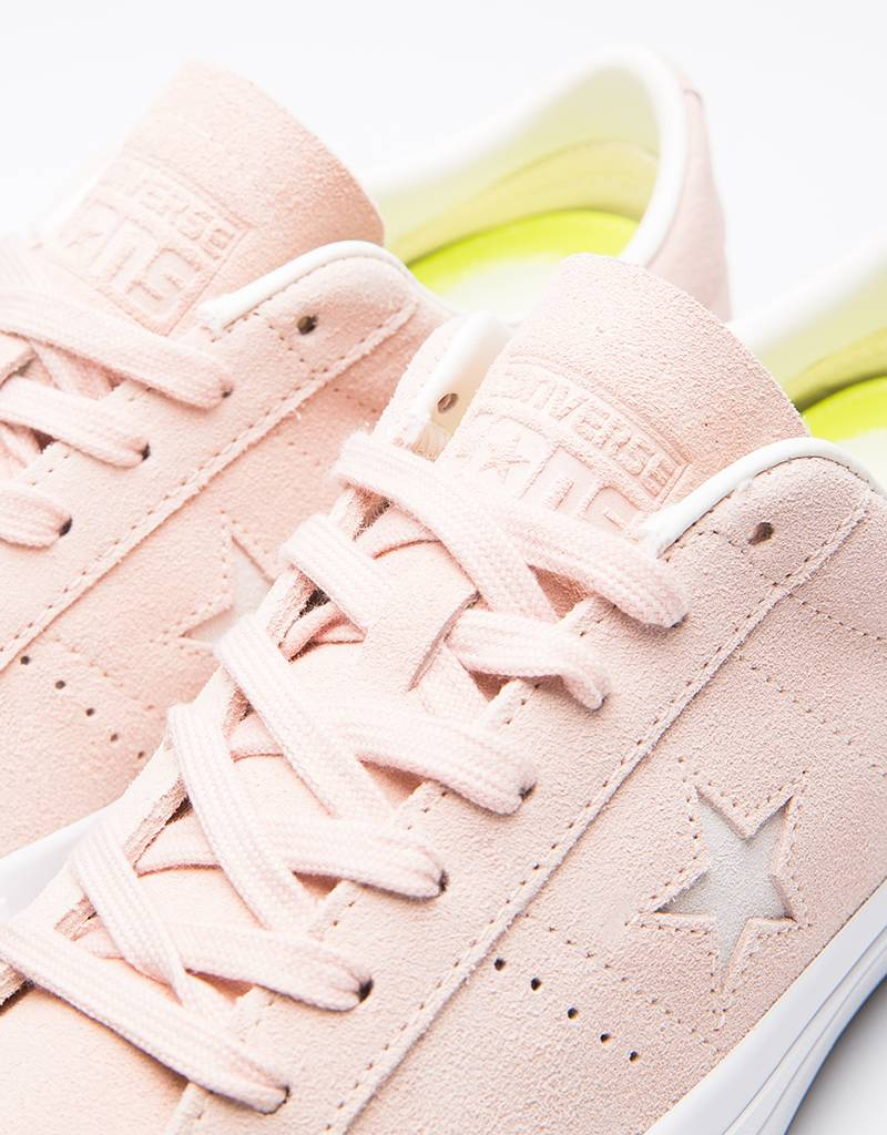 Converse one star pro ox Pink/egret/white