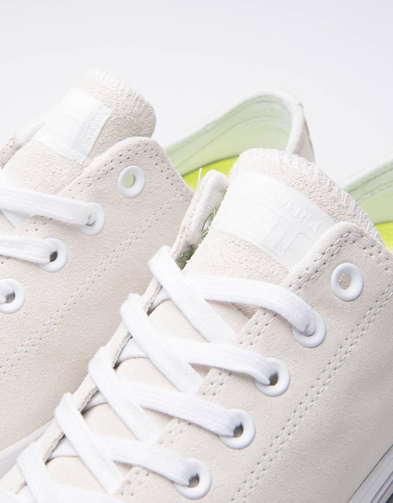 Converse Ctas Pro OX White/White/Teal