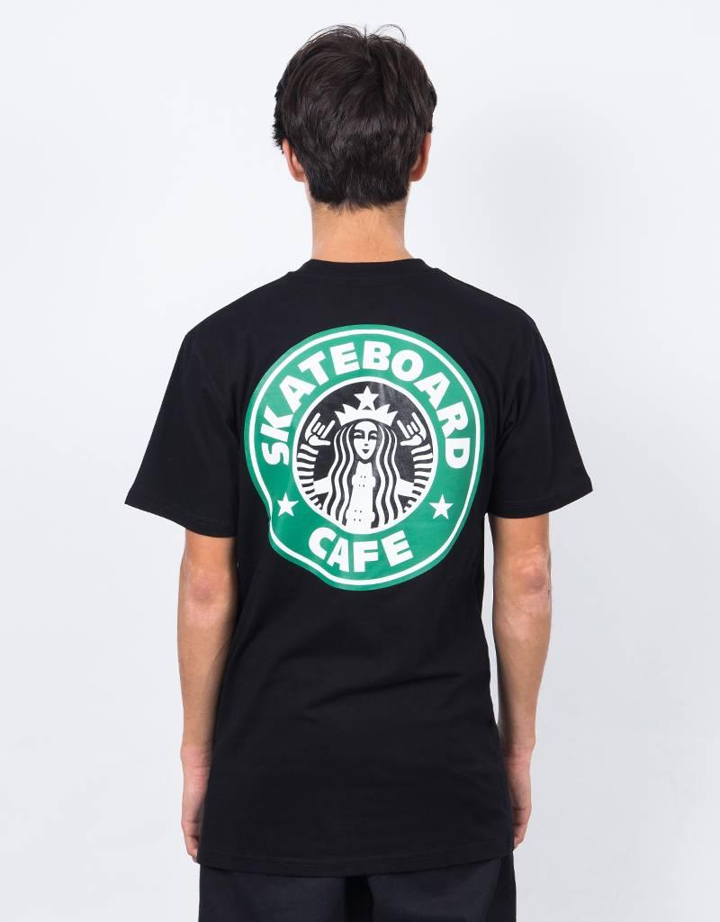 Skateboard Cafe Starf*cks T-Shirt Black