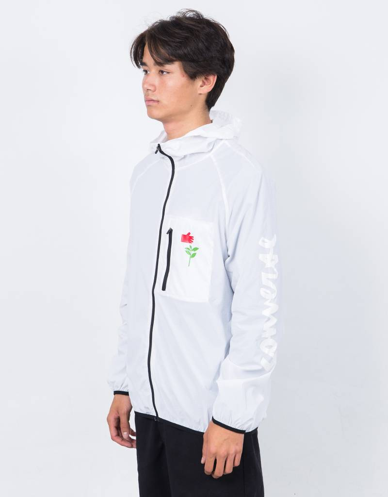Converse x Chocolate Packable Windbreaker Jacket White