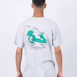 Polar x Dear Skating Ron Chatman Pro T-shirt Ice Grey