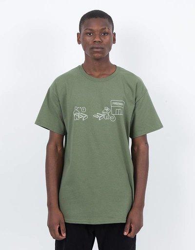 Free Wifi Ikea T-shirt Olive
