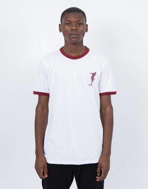 adidas Skateboarding adidas x Magenta T-Shirt White/Collegiate Burgundy