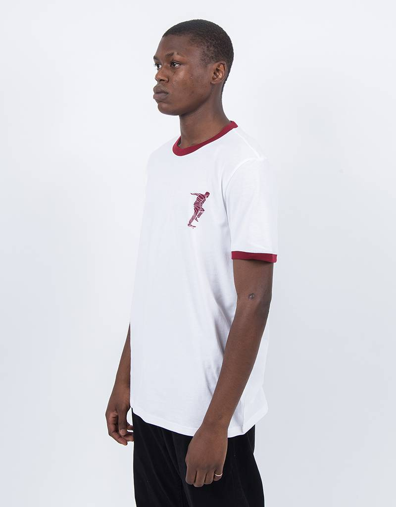 adidas x Magenta T-Shirt White/Collegiate Burgundy