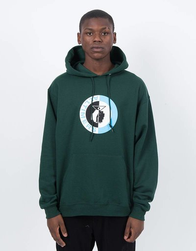 Alltimers Fist Hoodie Forest Green