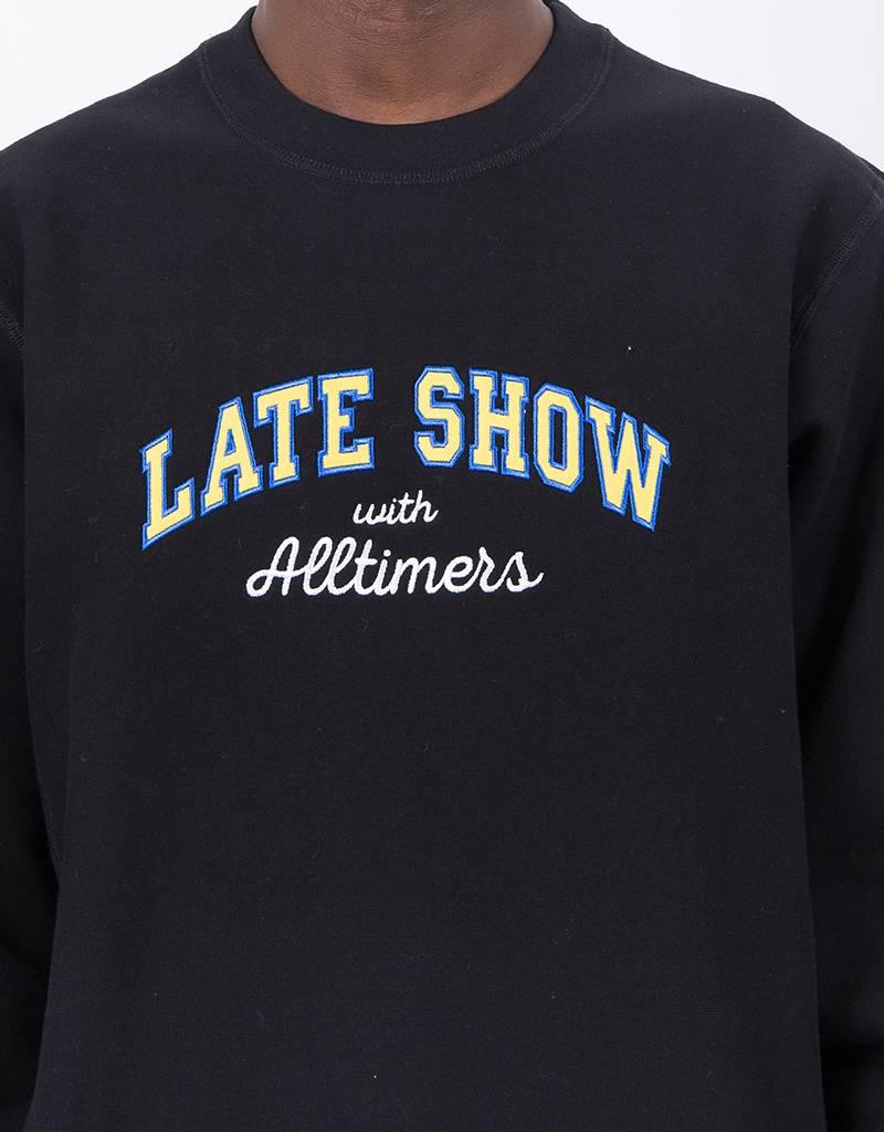 Alltimers Late Premium Crew Black