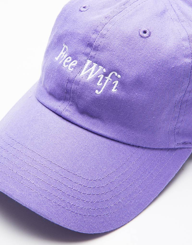 Free Wifi Cap Light Purple