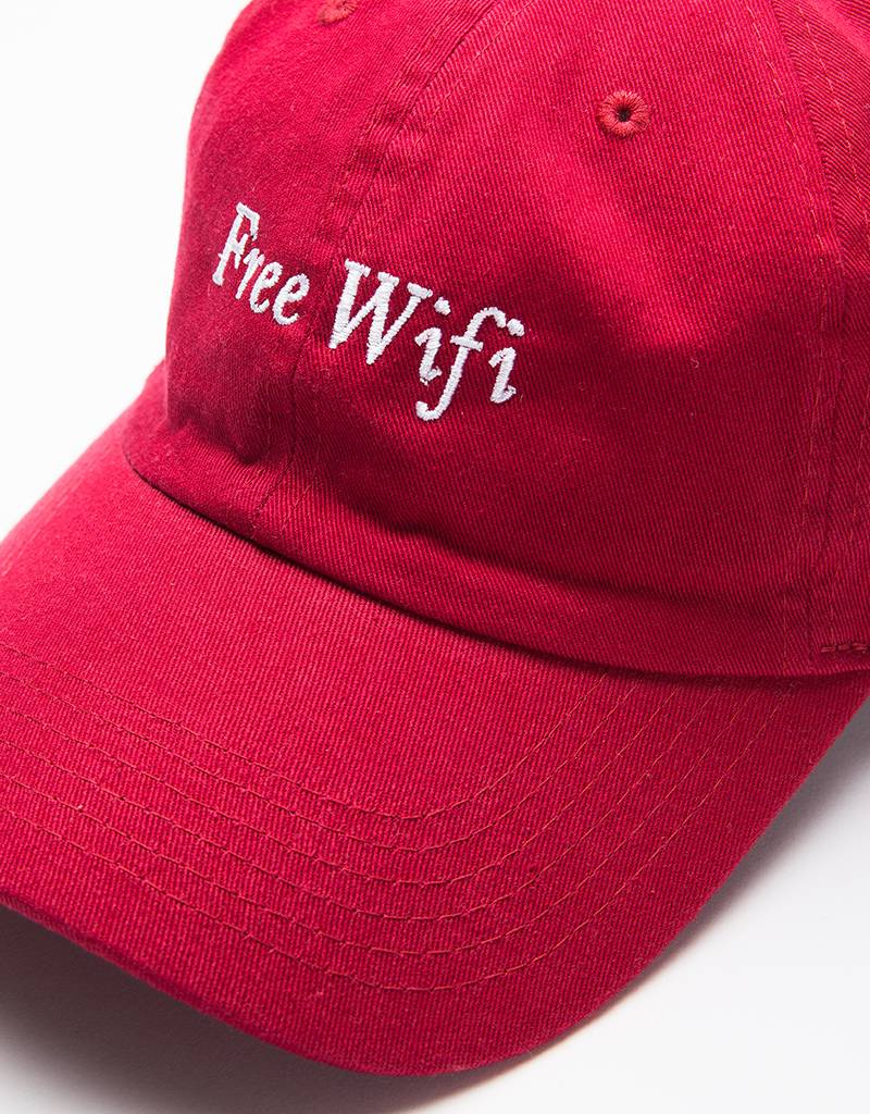 Free Wifi Cap Red