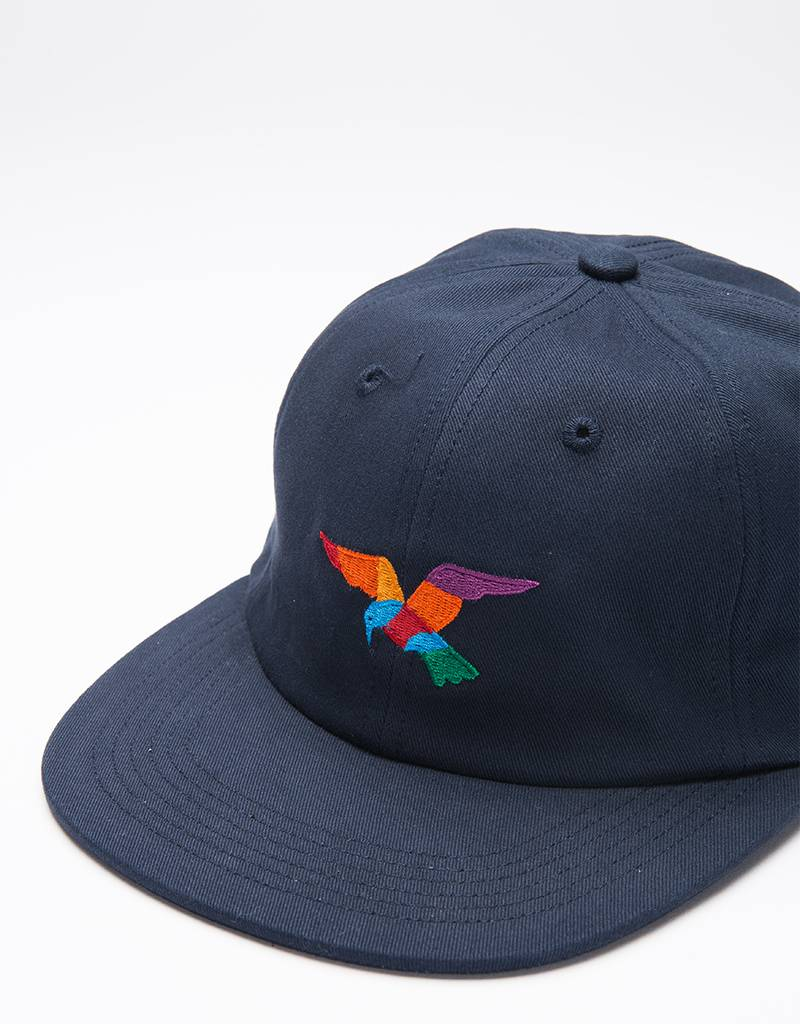 Parra Bird Sixpanel Cap Navy