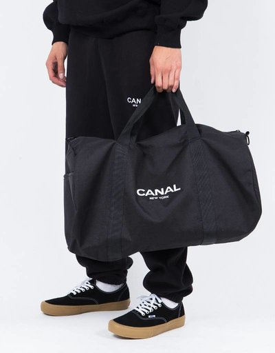 Canal Logo Duffel Bag Black