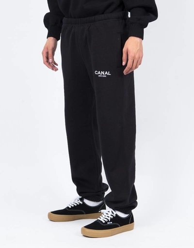 Canal Premium Sweatpants Black