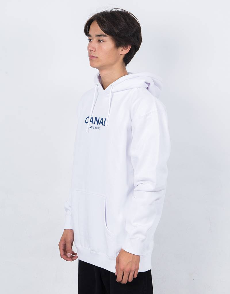 Canal Classic Hoodie White