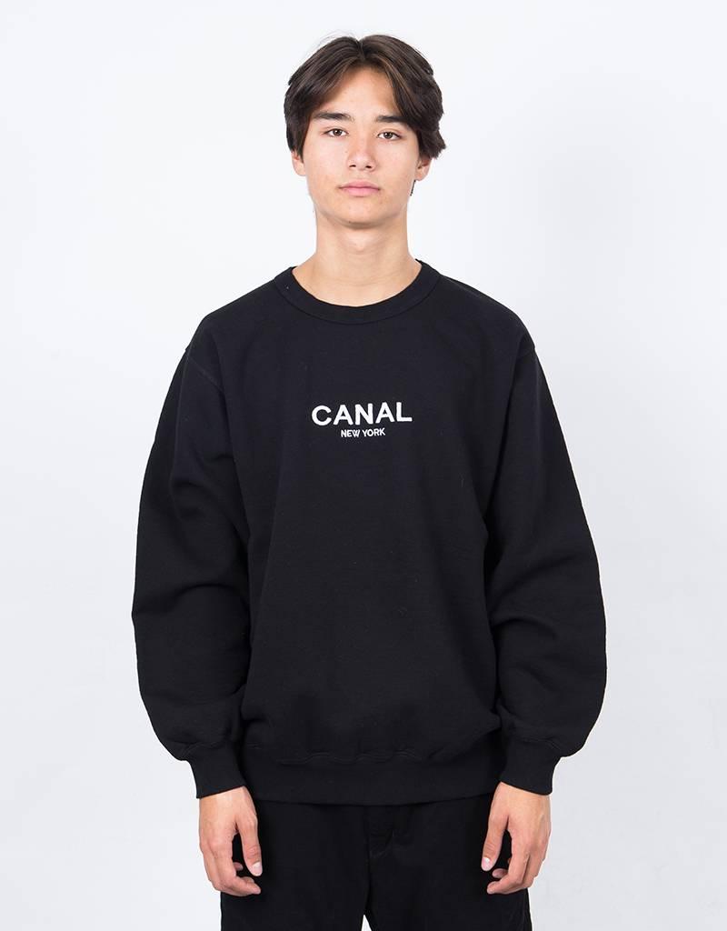 Canal Premium Pullover Black