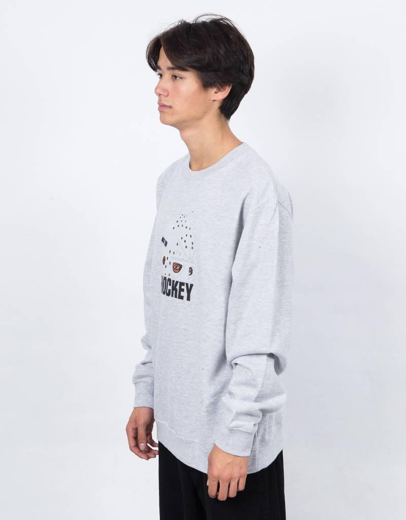 Hockey Mask Crewneck Gray