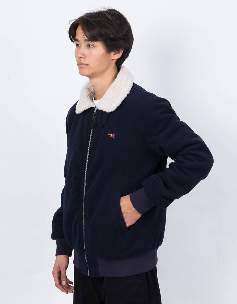 Parra Topper Harley Wool Jacket Dark Navy