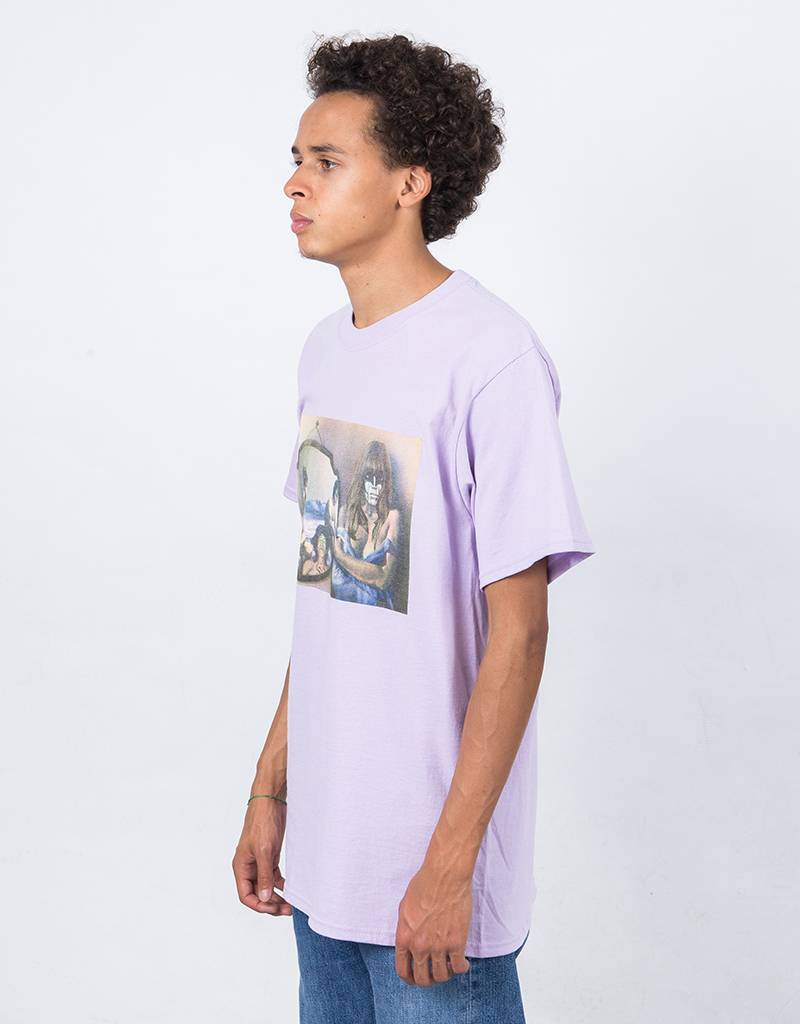 Fucking Awesome Mirror T-Shirt Lavender