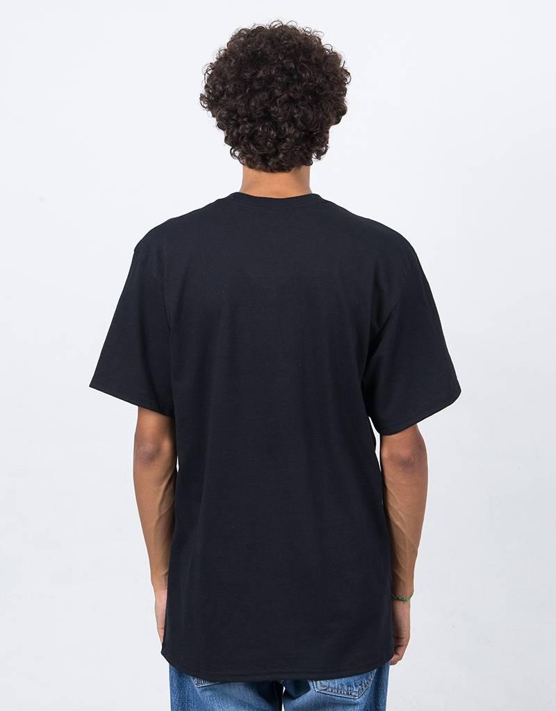 Fucking Awesome Circle People T-Shirt Black