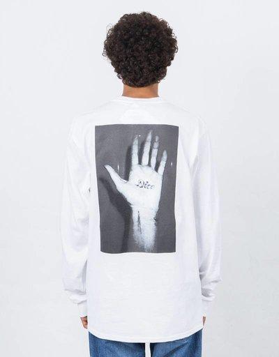 Fucking Awesome Dice Hand Longsleeve White