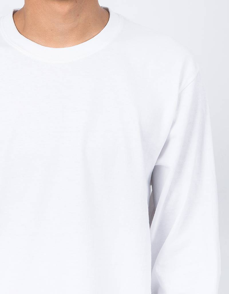 Fucking Awesome Dice Hand Longsleeve White