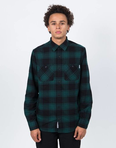 Carhartt Josh Longsleeve Shirt Check Hedge