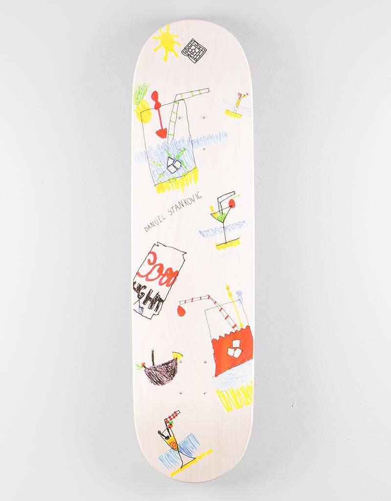 "The National Danijel Stankovic x Maxi Deck White Wash Stain 8.25"""