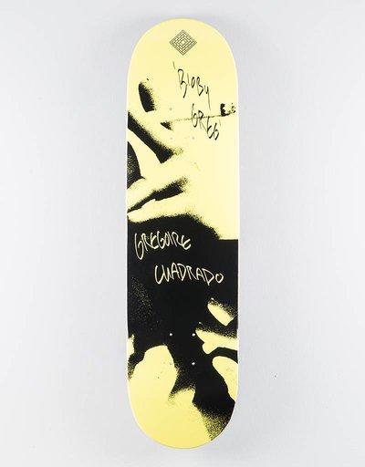 "The National Gregoire Cuadrado x Catalogue Deck Yellow 8.25"""
