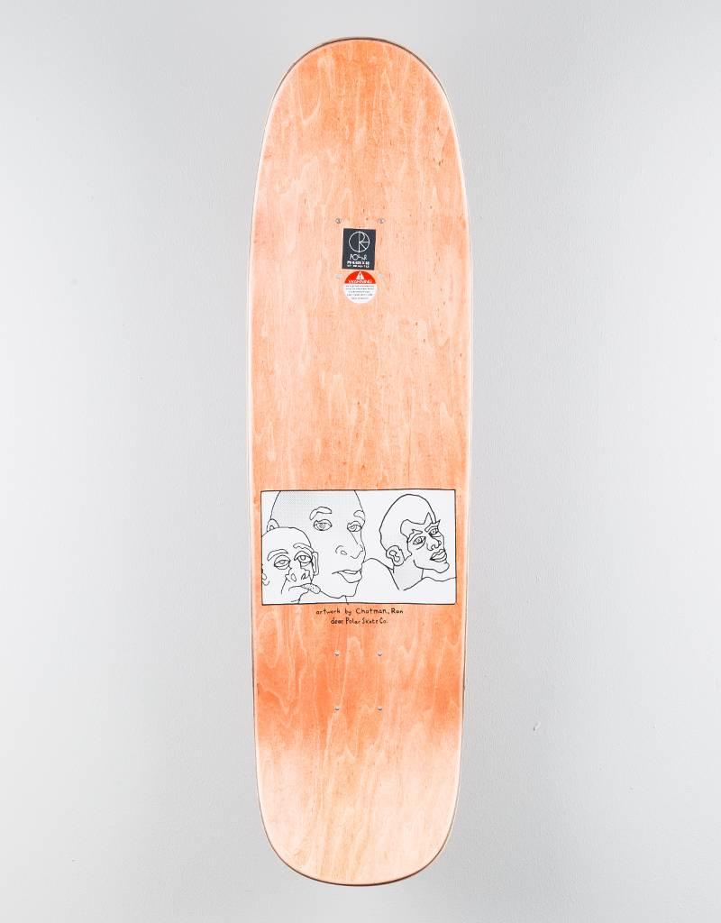 """Polar x Dear Skating Three Faces P9 8,625"""" Deck"""
