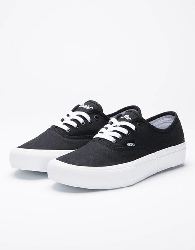 Vans x Civilist Authentic Pro True Black/White 'Coffee'